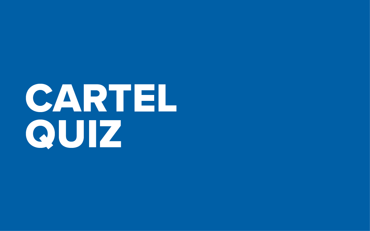 cartel quiz