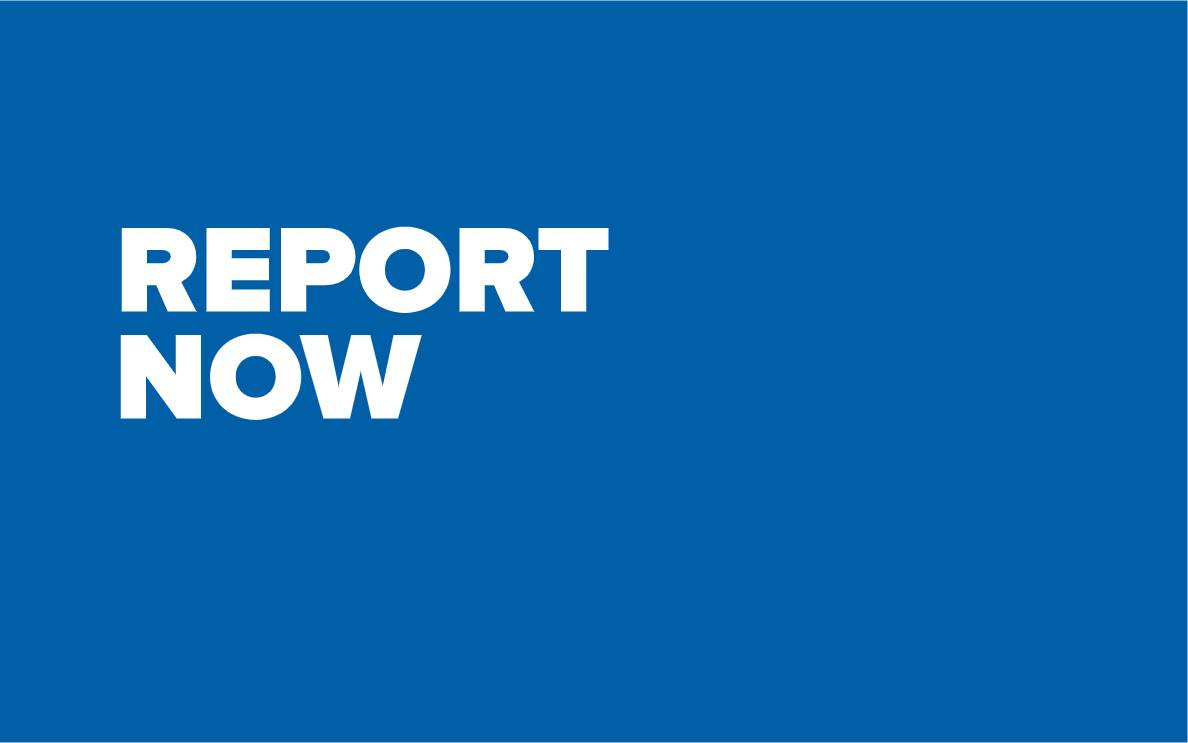 Report now navigation button