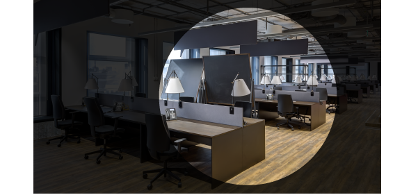 Office in the spotlight